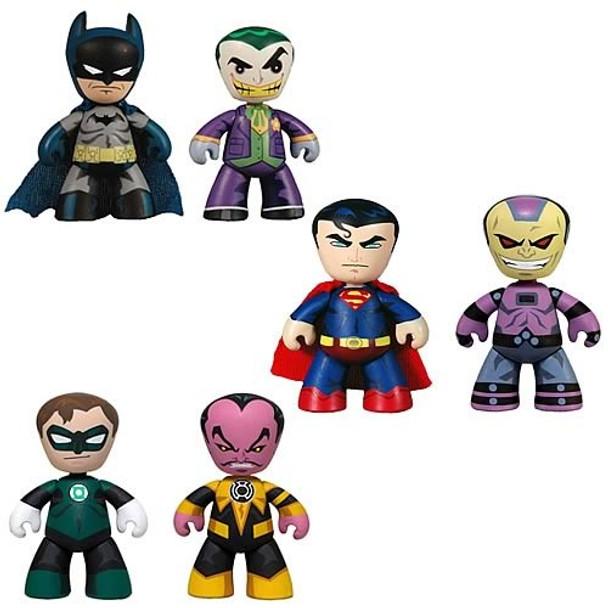 DC Universe Mini Mez-Itz 2-Pack Series 1 Figures Set
