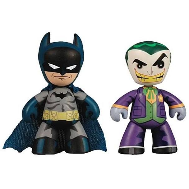 DC Universe Mini Mez-Itz Batman and Joker Figures 2-Pack