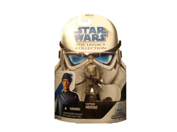 Star Wars Captain Needa Build A Droid The Legacy Collection Action Figure BD40