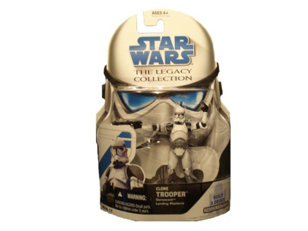 Star Wars Clone Trooper Legacy Collection Build-A-Droid Factory Action Figure BD 17