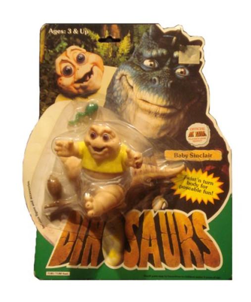 Dinosaurs Baby Sinclair Figure