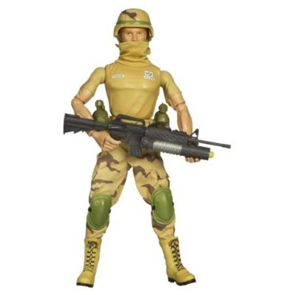 G.I. Joe 25th Anniversary 12-Inch Desert Trooper Code Name Dusty Action Figure