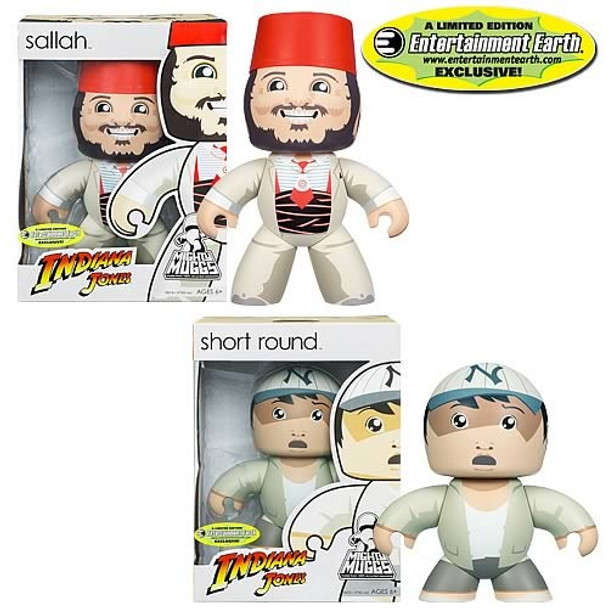 Indiana Jones Short Round  Sallah Mighty Muggs EE Exclusive