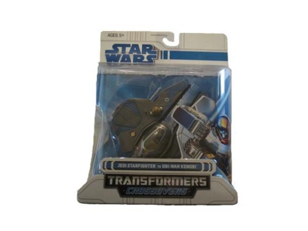 Star Wars Clone Wars Transformers Crossovers Jedi Starfighter to Obi-Wan Kenobi