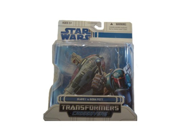 Star Wars Clone Wars Transformers Crossovers Slave I to Boba Fett