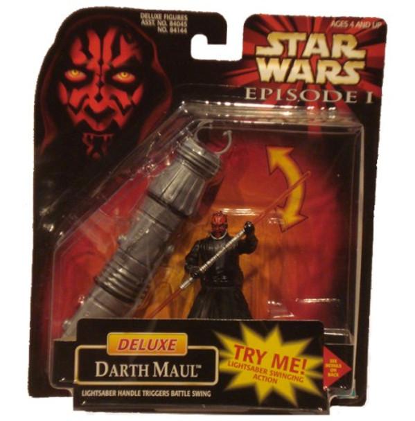 Star Wars Episode I: Deluxe Darth Maul Figure