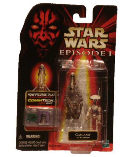 Star Wars Episode I: Gasgano Figure w/Pit Droid