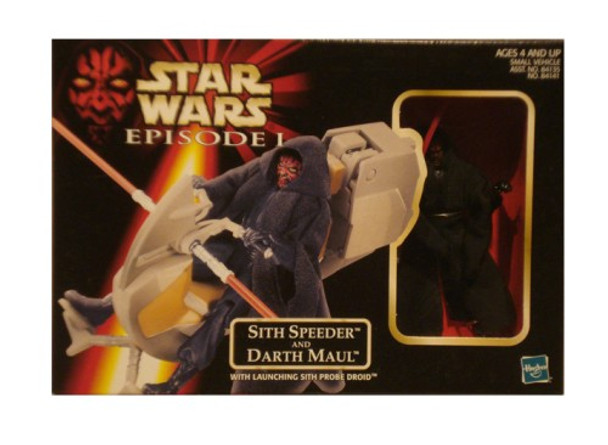 Star Wars Episode I: Sith Speeder and Darth Maul Figure