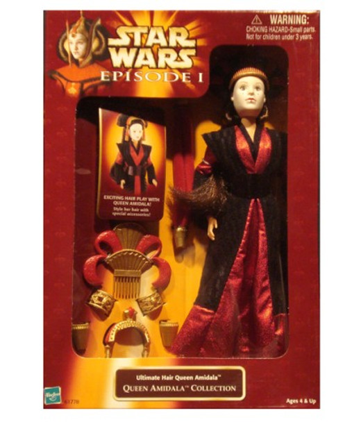Star Wars Episode I: Ultimate Hair Queen Amidala Doll