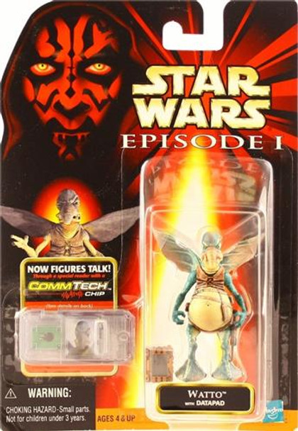 Star Wars Episode I: Watto with Datapad Figure