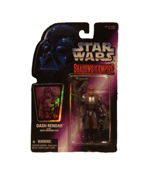 Star Wars Shawdow Of The Empire Dash Rendar Action Figure