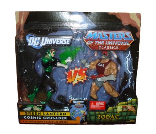 DC Universe vs Master of the Universe Green Lantern vs. Zodac 2-Pack Figures