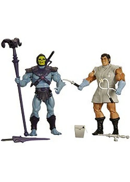 Masters Of The Universe Classics 2010 SDCC Mo-Larr vs Skeletor Figures
