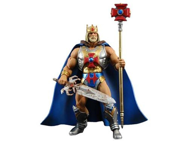 Masters Of The Universe Classics King He-Man Figure with Map