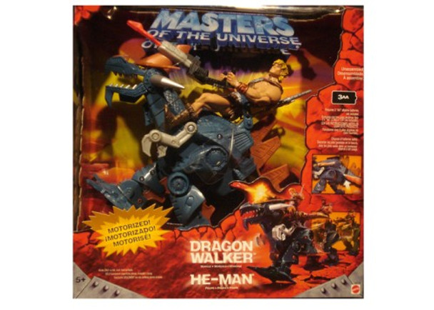 Masters Of The Universe Dragon Walker w/He-Man Figure