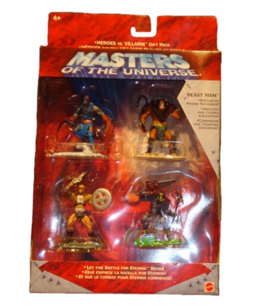Masters Of The Universe Heroes Vs. Villians Gift Pack