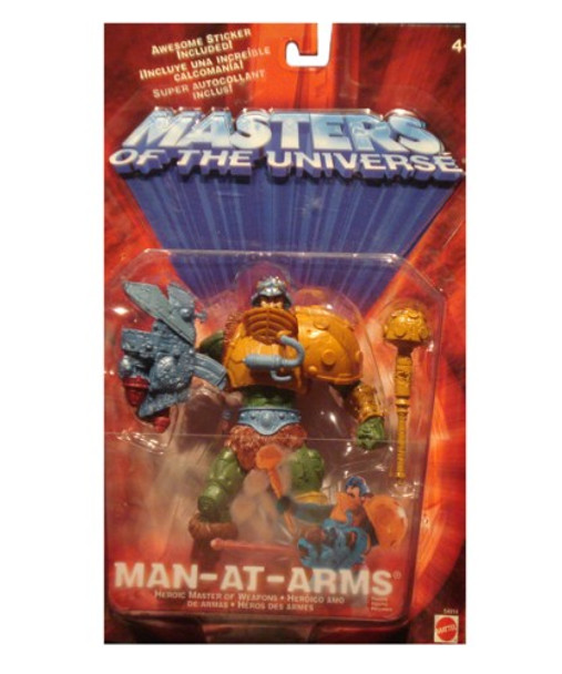 Masters Of The Universe Man-At-Arms Figure
