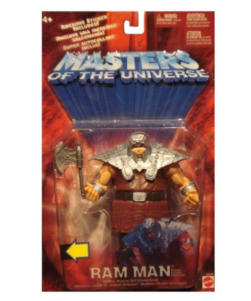 Masters Of The Universe Ram Man Figure
