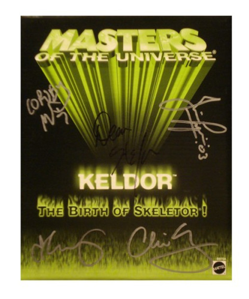 Masters Of The Universe SDCC Exclusive Keldor Figure Signed By Four Horsemen