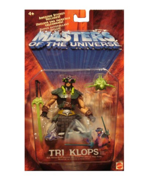 Masters Of The Universe Tri-Klops (Repaint) Figure