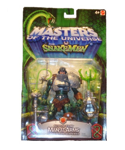 Masters Of The Universe Vs. Snakemen Serpent Claw Man-At-Arms Figure