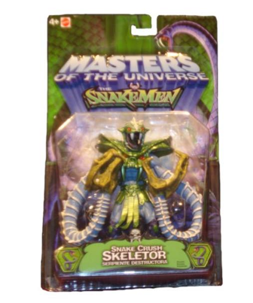 Masters Of The Universe Vs. Snakemen Snake Crush Skeletor Figure