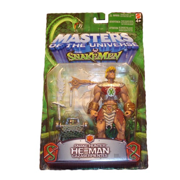 Masters Of The Universe Vs. Snakemen Snake Hunter He-Man Figure