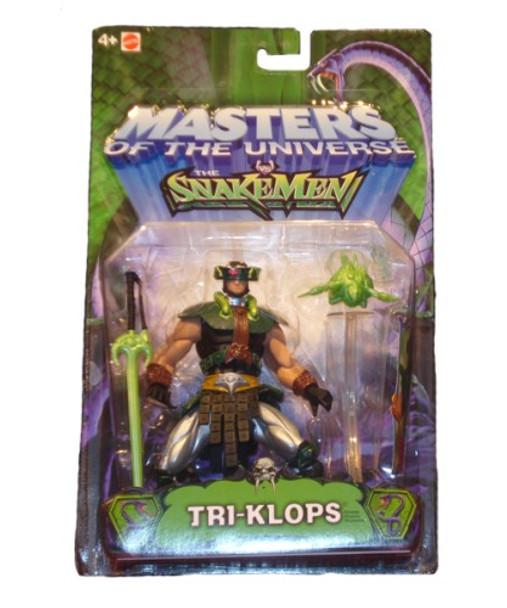 Masters Of The Universe Vs. Snakemen Tri-Klops Figure