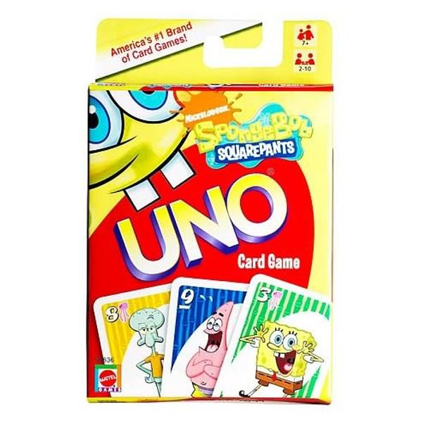 SpongeBob SquarePants UNO Card Game