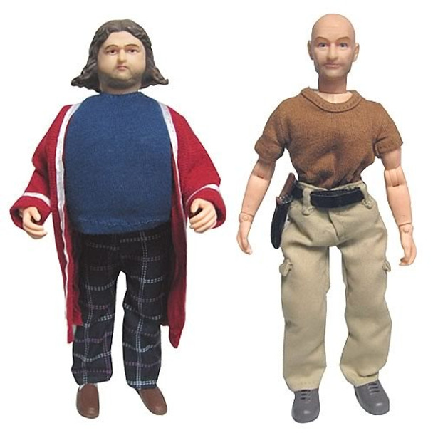 Lost Hurley Reyes and John Locke 8-Inch Action Figures
