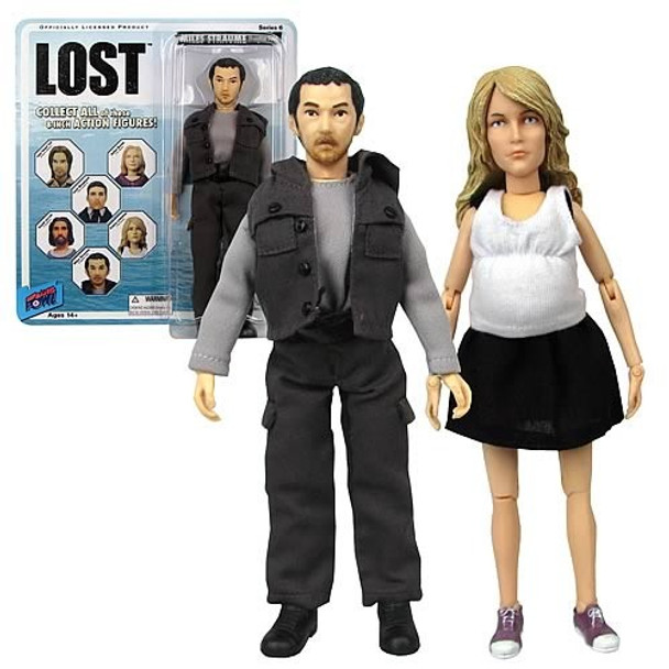 Lost Miles and Claire 8-Inch Action Figures