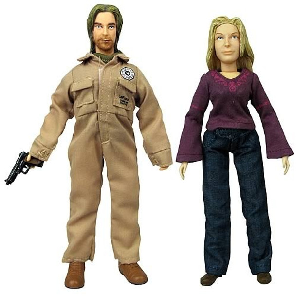 Lost Sawyer and Juliet 8-Inch Action Figures