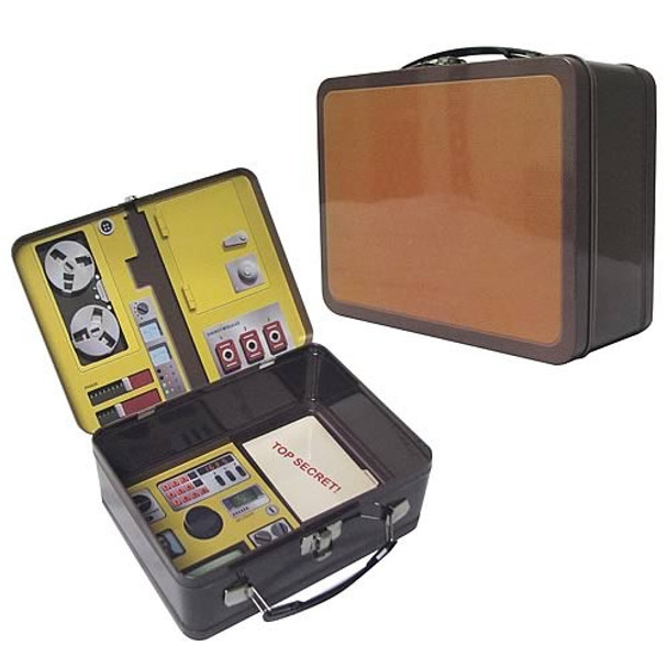 Six Million Dollar Man Oscar Goldman's Briefcase Tin Tote