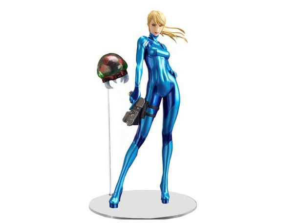 Metroid Other M Samus Aran Zero Suit Action Figure