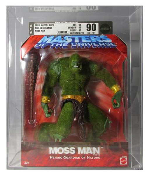 Masters Of The Universe Mail Away Exclusive Moss Man AFA Graded 90U