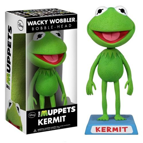 Muppets Kermit the Frog Bobble Head