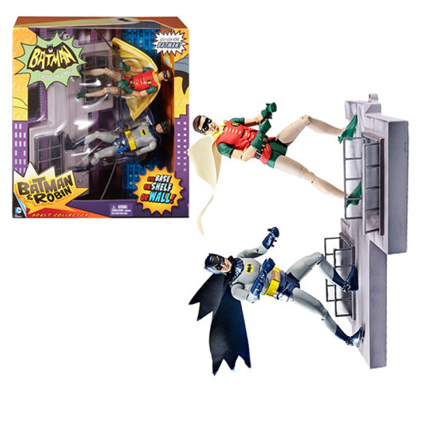 Batman Classics 1966 TV Moments Action Figure Batman and Robin 2-Pack