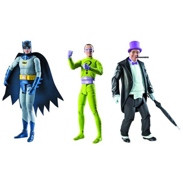 Batman Classics 1966 TV Series Wave 1 Figures