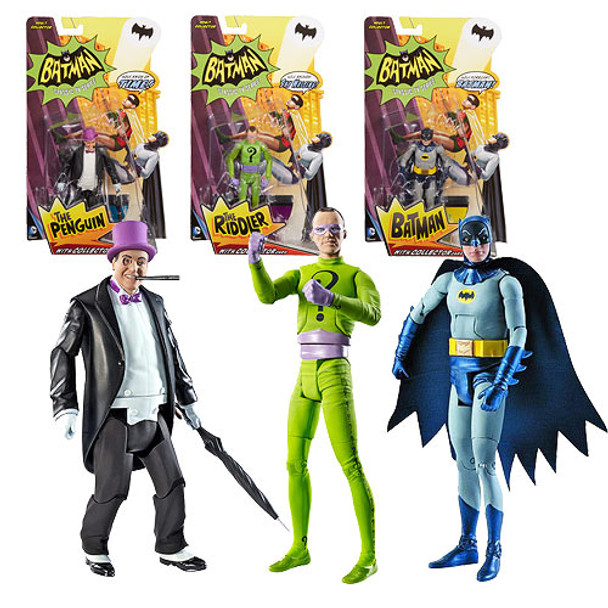 Batman Classics 1966 TV Series Wave 1 Figures