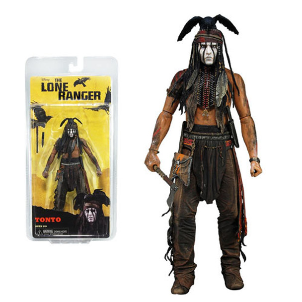 The Lone Ranger Tonto 7-Inch Series 1 Action Figure