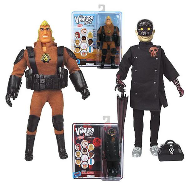 The Venture Bros. Brock Samson and Killinger Figures