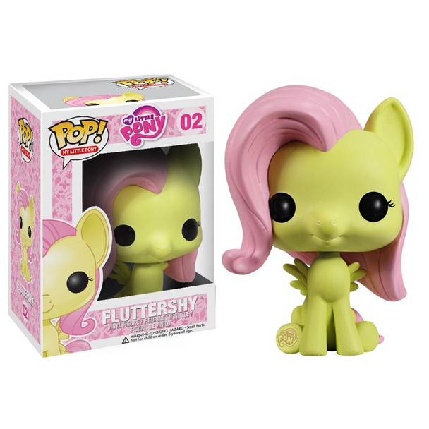My Little Pony Friendship is Magic Fluttershy Pop! Vinyl Figure