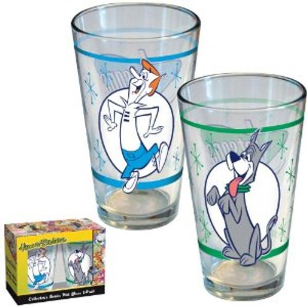 Hanna-Barbera Jetsons Pint Glass 2-pack