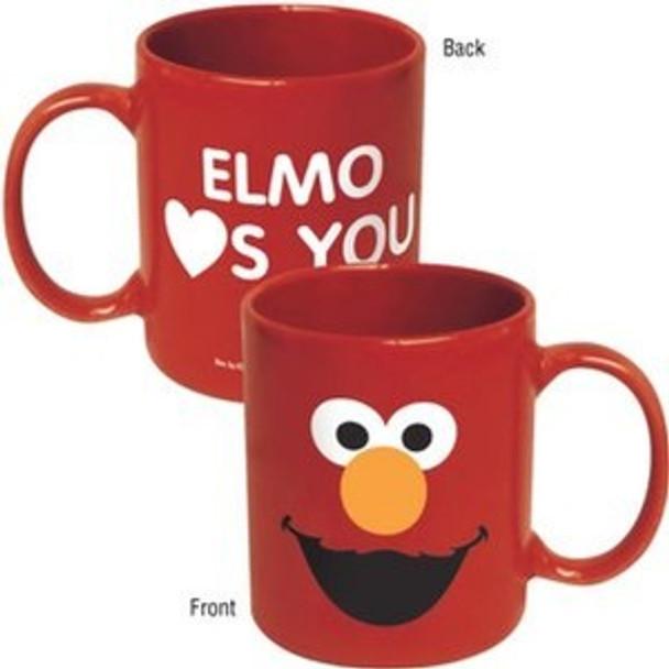 Sesame Street Elmo Big Face Mug