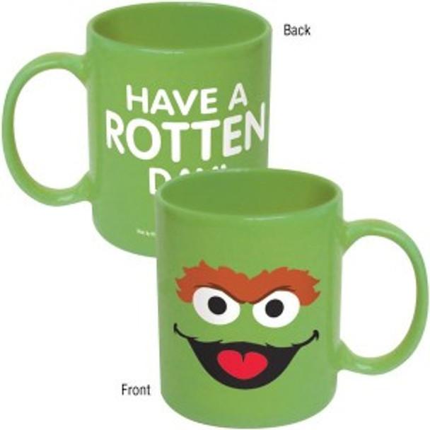 Sesame Street Oscar The Grouch Big Face Mug