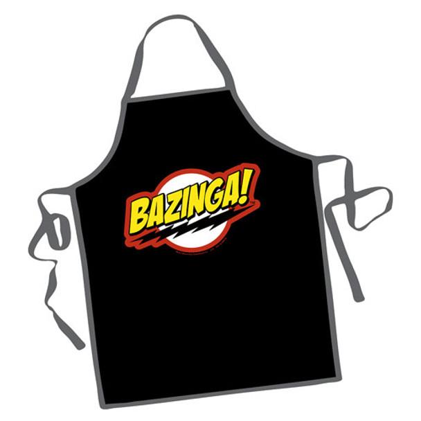 The Big Bang Theory Bazinga! Apron