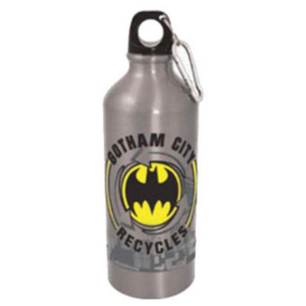 DC Comics Batman Gotham City Recycles 20 oz. Aluminum Water Bottle