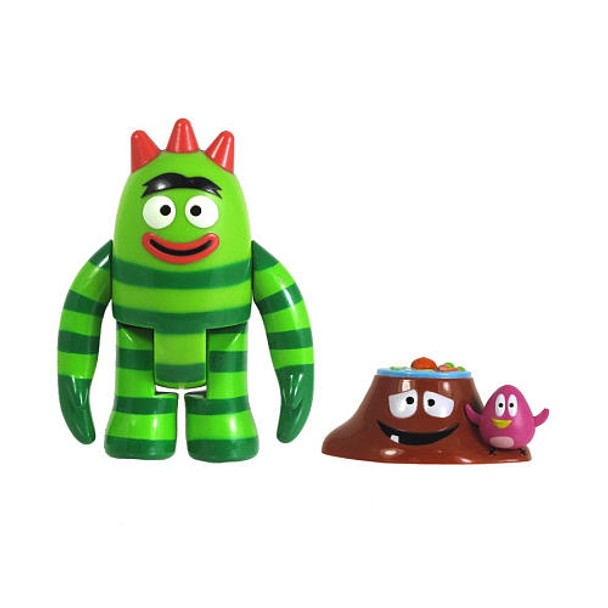 Yo Gabba Gabba Brobee 3-Inch Action Figure with Accessory