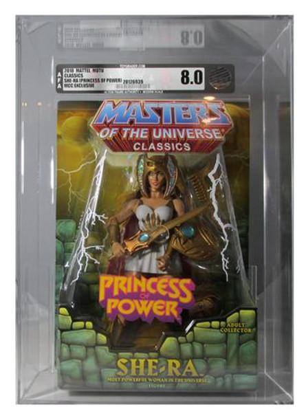 Masters Of The Universe Classics She-Ra Figure AFA Graded 8.0