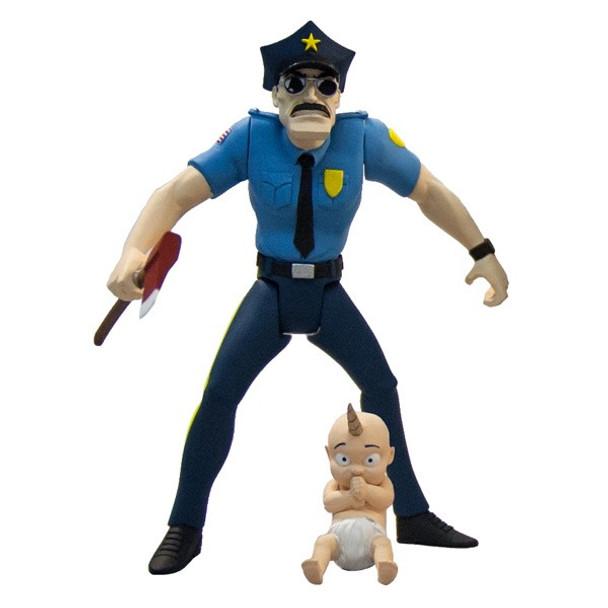 Axe Cop 4-Inch Series 1 Action Figure Set